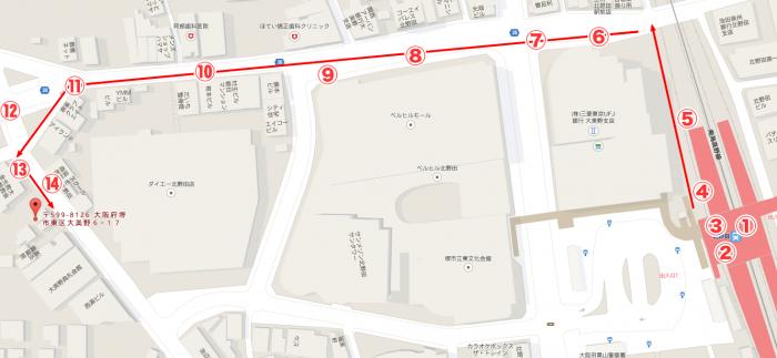 〒599-8126-大阪府堺市東区大美野6−17---Google-マップ